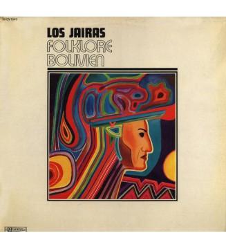 Los Jairas - Folklore Bolivien (LP, Album) mesvinyles.fr