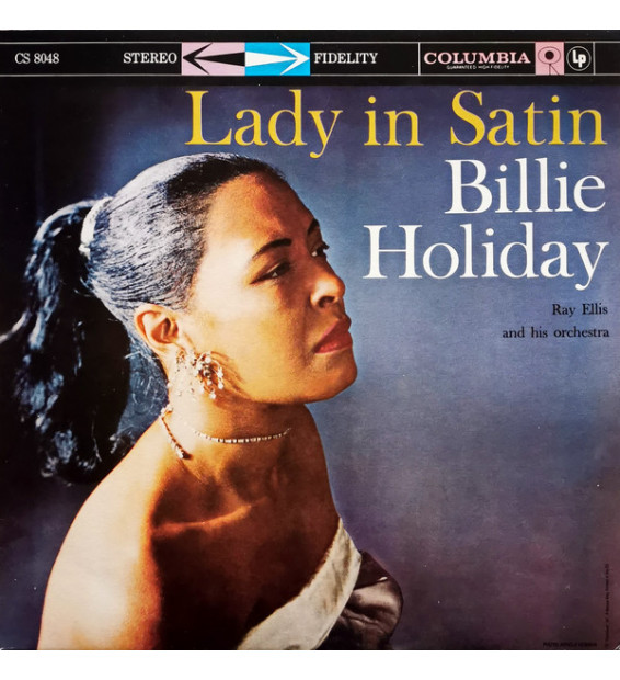 Billie Holiday With Ray Ellis And His Orchestra - Lady In Satin (LP, Album, RE, 180) mesvinyles.fr