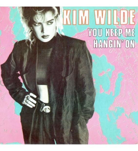 "Kim Wilde - You Keep Me Hangin' On (7"", Single) mesvinyles.fr"