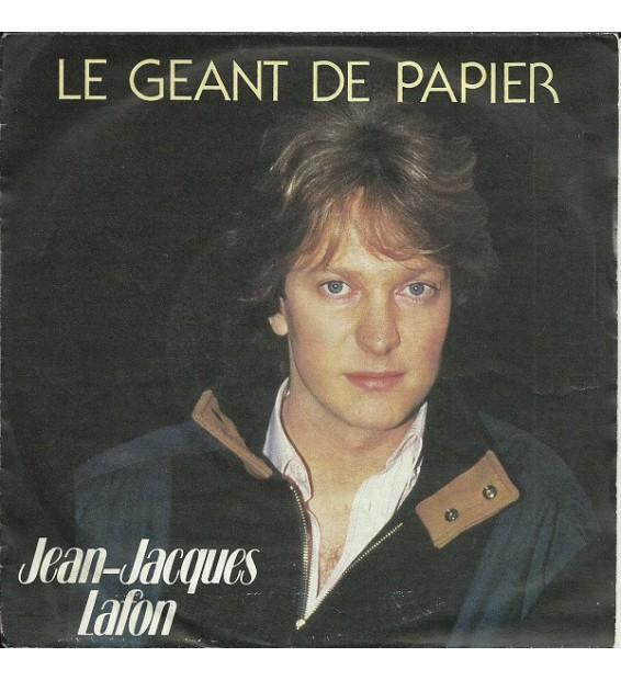 """Jean-Jacques Lafon - Le Géant De Papier (7"""", Single) mesvinyles.fr"""