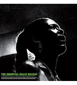 Billie Holiday - The Essential Carnegie Hall Concert 1956 - Disquaire Day 2016
