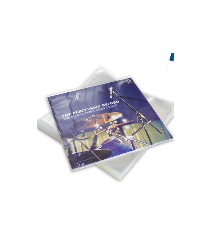 50 Pochettes Protection Vinyle 33T 100 microns Polypropylene mesvinyles.fr