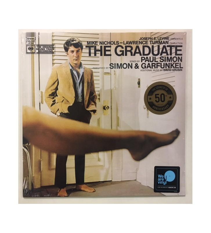 Simon & Garfunkel, Dave Grusin - The Graduate (Original Sound Track Recording) (LP, Album, RE) mesvinyles.fr