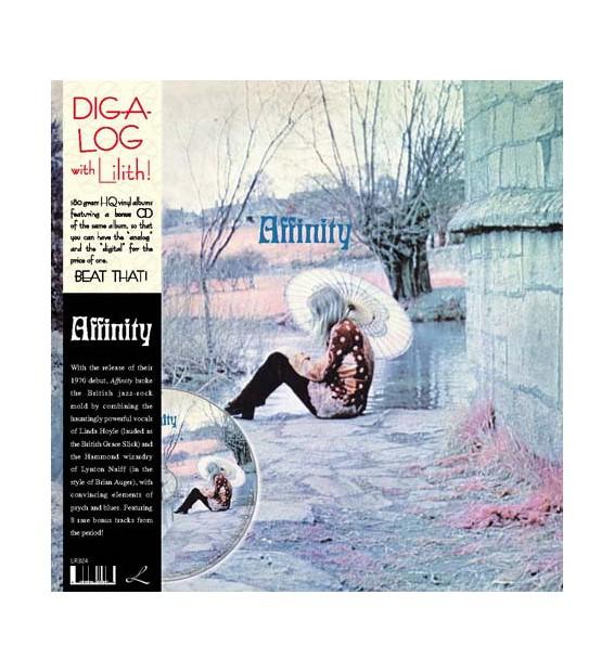 Affinity (4) - Affinity (2xLP, Album, RE + CD, Album) mesvinyles.fr