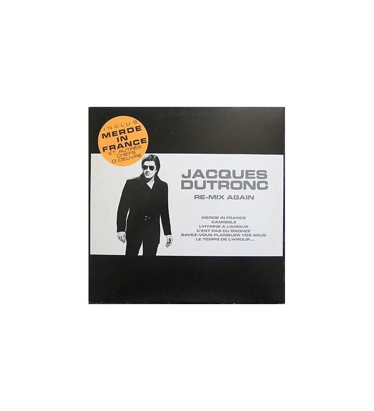 Jacques Dutronc - Re-Mix Again (LP, Comp) mesvinyles.fr