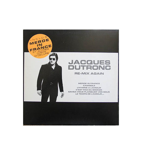 Jacques Dutronc - Re-Mix Again (LP, Comp) mesvinyles.fr