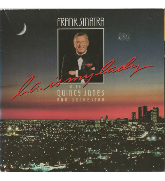Frank Sinatra With Quincy Jones And Orchestra* - L.A. Is My Lady (LP, Album) mesvinyles.fr