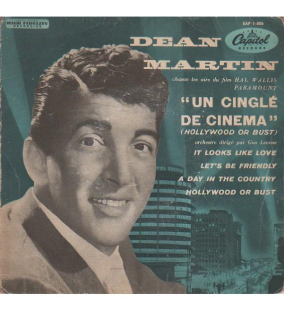 """Dean Martin - Un Cinglé De Cinéma (7"""", EP) mesvinyles.fr"""