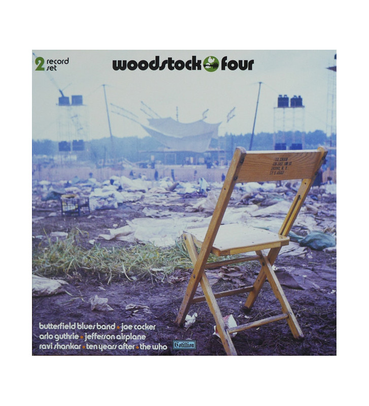 Various - Woodstock Four (2xLP, Album, S/Edition, Gre) mesvinyles.fr