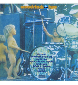 Various - Woodstock Two (2xLP, Album, S/Edition, Ora) mesvinyles.fr