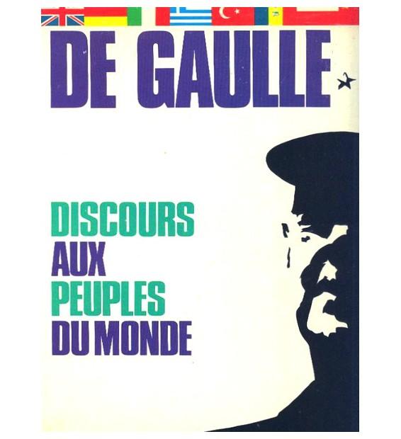 Charles De Gaulle - Discours Aux Peuples Du Monde (LP) mesvinyles.fr
