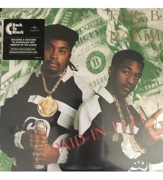 Eric B. & Rakim - Paid In Full (2xLP, Album, RE, 180) mesvinyles.fr