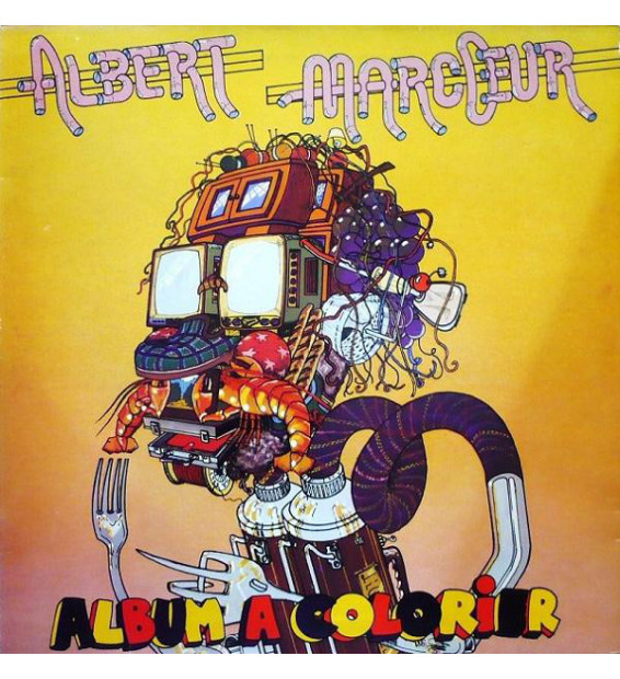 Albert Marcœur - Album À Colorier (LP, Album)