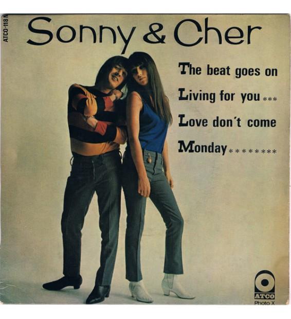 "Sonny & Cher - The Beat Goes On (7"", EP) mesvinyles.fr"