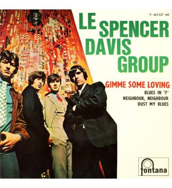 """Le Spencer Davis Group* - Gimme Some Loving (7"""", EP) mesvinyles.fr"""