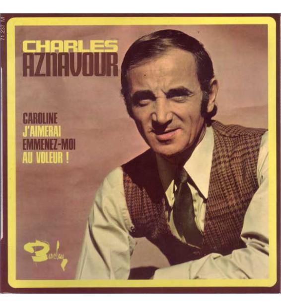 """Charles Aznavour - Caroline (7"""", EP) mesvinyles.fr"""