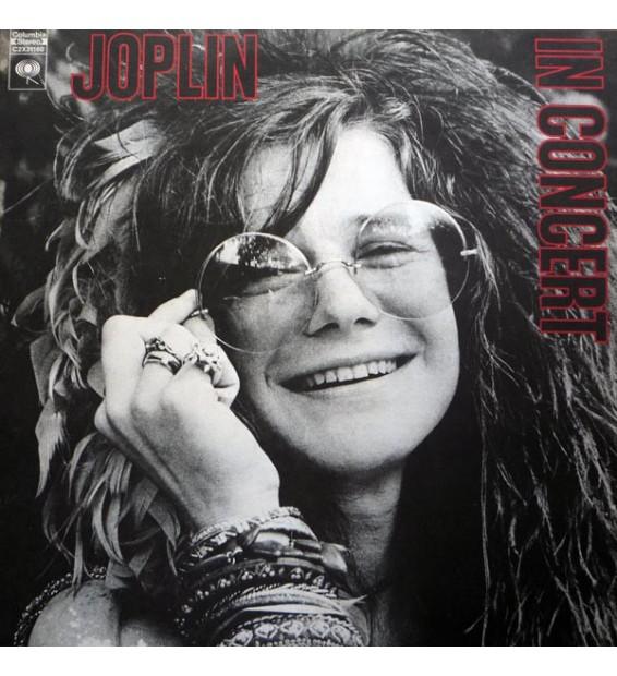 Janis Joplin - In Concert (2xLP, Album, Gat)