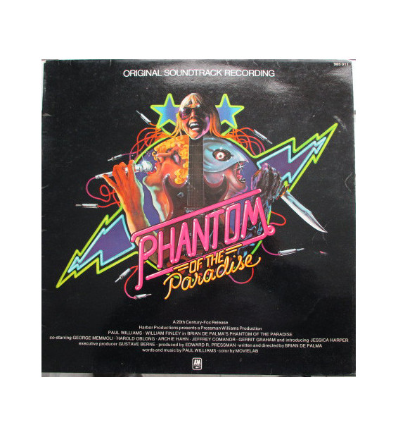 Various - Phantom Of The Paradise - Original Soundtrack Recording (LP, Album) mesvinyles.fr