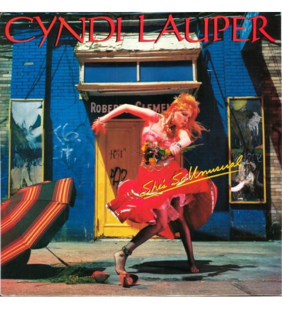 Cyndi Lauper - She's So Unusual (LP, Album) mesvinyles.fr