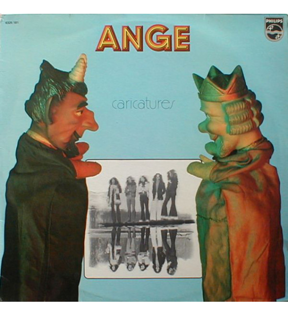 Ange (4) - Caricatures (LP, Album, RE)