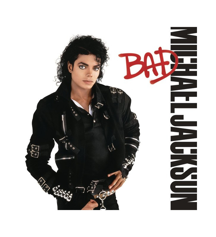 Michael Jackson - Bad (LP, Album, RE) mesvinyles.fr