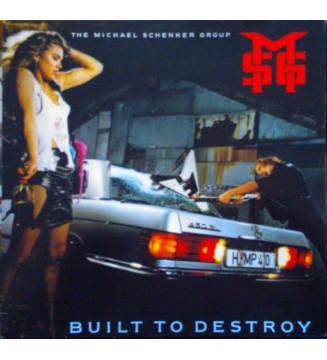 The Michael Schenker Group - Built To Destroy (LP, Album) mesvinyles.fr