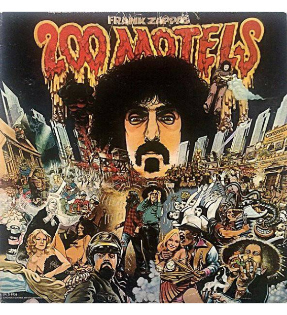 Frank Zappa - 200 Motels (2xLP, Album, Gat) mesvinyles.fr