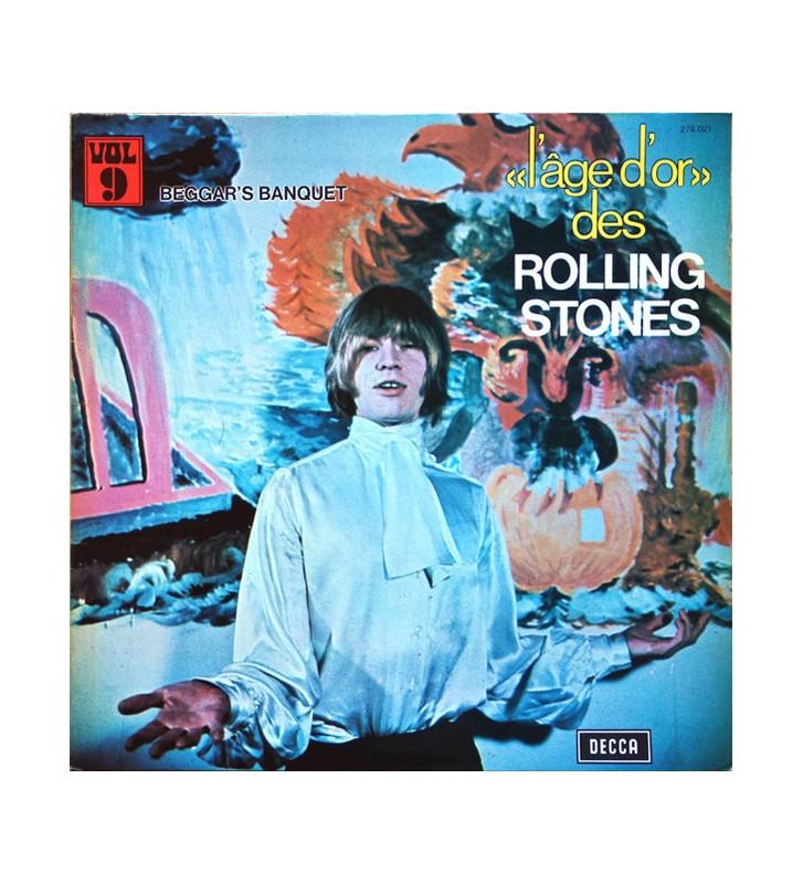 The Rolling Stones - «L'âge D'or» Des Rolling Stones - Vol.9 - Beggars Banquet (LP, Album, RE) mesvinyles.fr