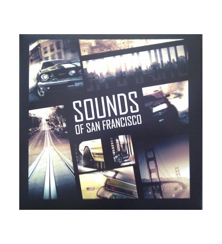Various - Sounds Of San Francisco - Driver San Francisco Soundtrack (LP, Comp, Ltd, Yel) mesvinyles.fr