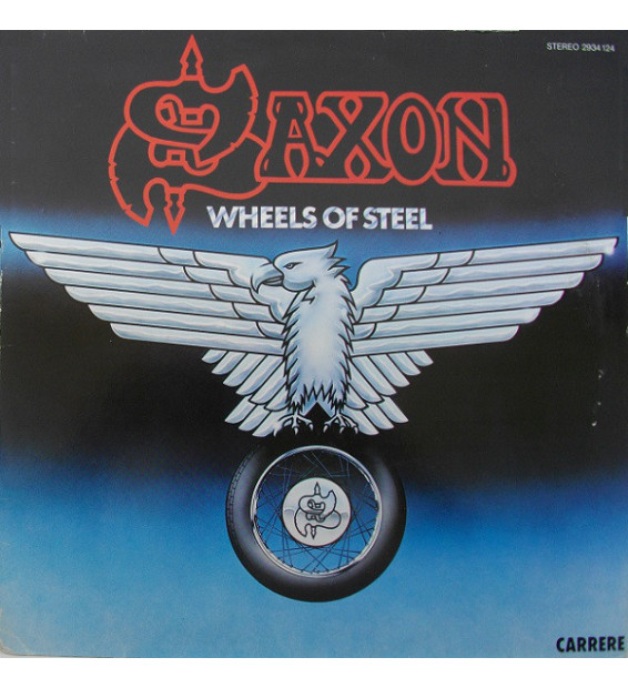 Saxon - Wheels Of Steel (LP, Album) mesvinyles.fr