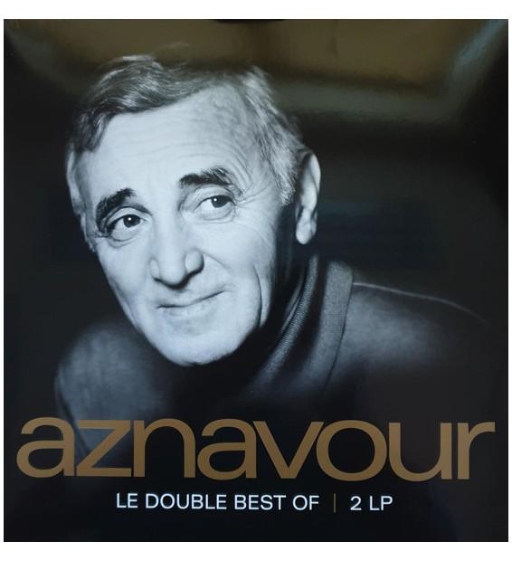 Charles Aznavour - Aznavour LE DOUBLE BEST OF (2xLP, Album, Comp, RM, S/Edition) mesvinyles.fr