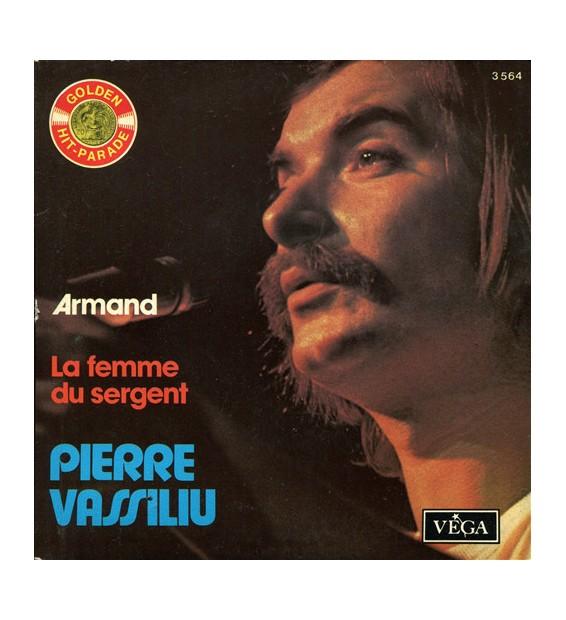 "Pierre Vassiliu - Armand / La Femme Du Sergent (7"", Single) mesvinyles.fr"