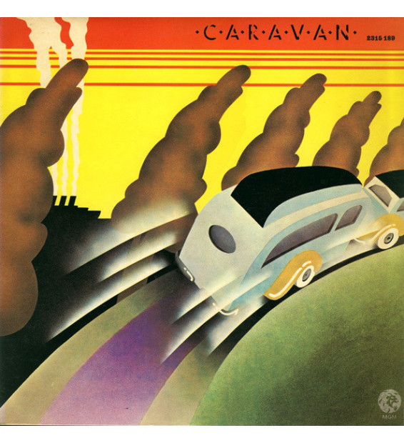 Caravan - Caravan (LP, Album, RE)