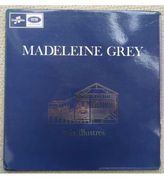 Madeleine Grey - Chants D'Auvergne Trois Chants Hebraiques Trois Chansons Madecasses (LP, Mono) mesvinyles.fr