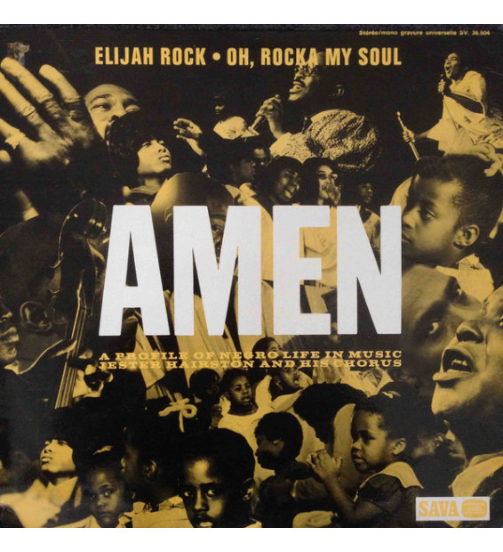 Dr. Jester Hairston And His Chorus - Amen (LP, Album) mesvinyles.fr