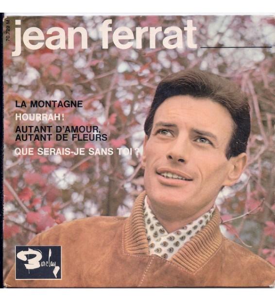 """Jean Ferrat - La Montagne (7"""", EP) mesvinyles.fr"""