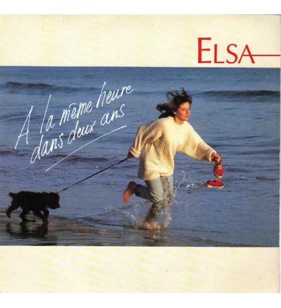 """Elsa (2) - A La Même Heure Dans Deux Ans (7"""", Single) mesvinyles.fr"""