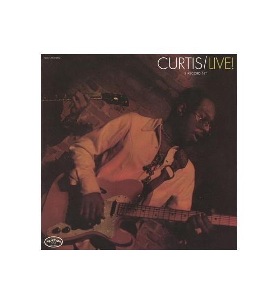 Curtis Mayfield - Curtis / Live! (2xLP, Album, RE, RM, 180)