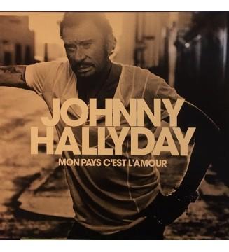 Johnny Hallyday - Mon Pays C'est L'amour (LP, Album, RP, Bla) mesvinyles.fr