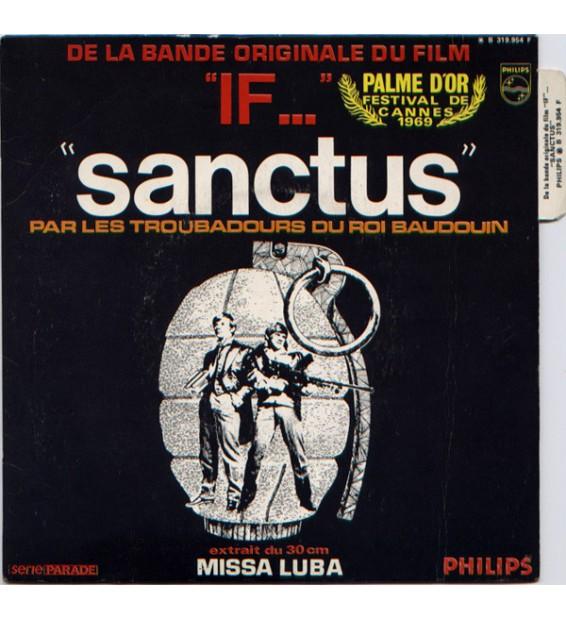 """Les Troubadours Du Roi Baudouin - Sanctus (De La Bande Originale Du Film """"If..."""") (7"""", Single) mesvinyles.fr"""