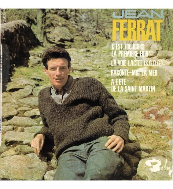 """Jean Ferrat - C'est Toujours La Première Fois (7"""", EP) mesvinyles.fr"""