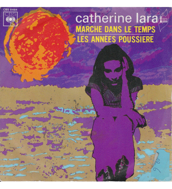 "Catherine Lara - Marche Dans Le Temps (7"", Single) mesvinyles.fr"