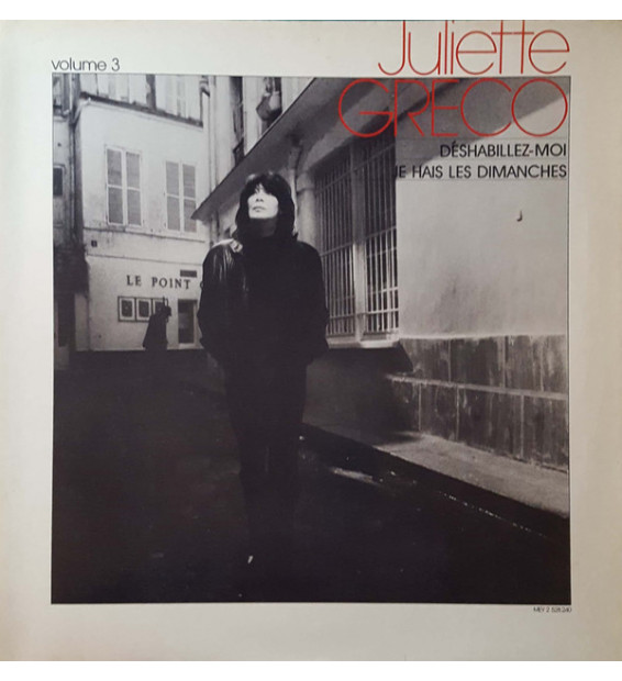 Juliette Gréco - Juliette Gréco Volume 3 (LP, Comp, Gat)