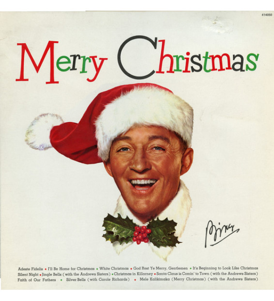 Bing Crosby - Merry Christmas (LP, Album, RE)