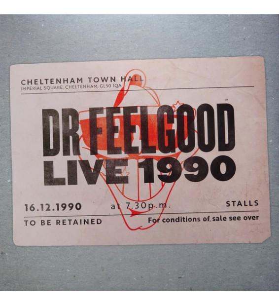 Dr. Feelgood - Live 1990 (LP, Album, Tur) mesvinyles.fr