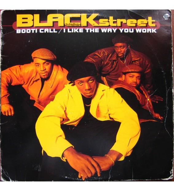 "Blackstreet - Booti Call / I Like The Way You Work (12"") mesvinyles.fr"
