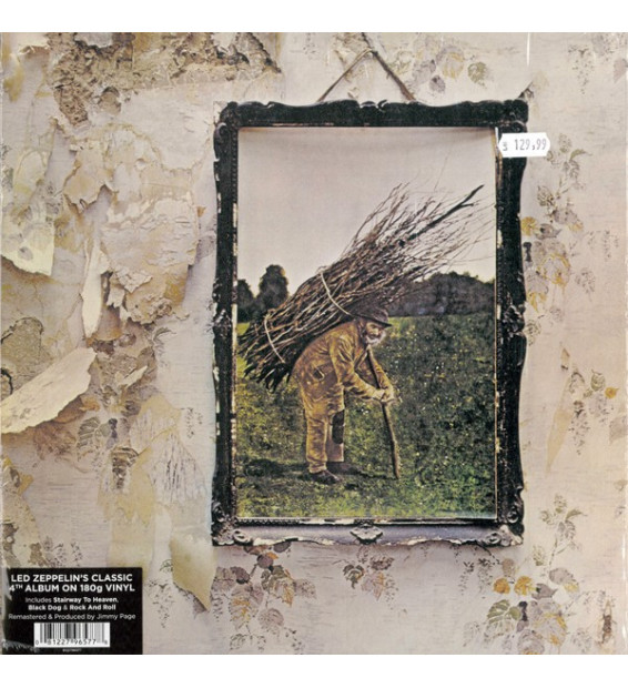 Led Zeppelin - Untitled (LP, Album, RE, RM, 180)