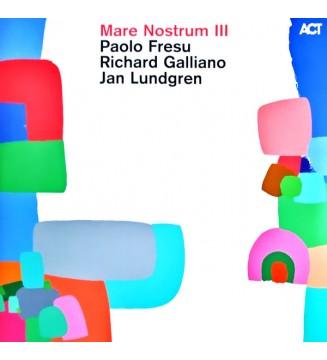 Paolo Fresu, Richard Galliano, Jan Lundgren - Mare Nostrum III (2xLP, Album) mesvinyles.fr