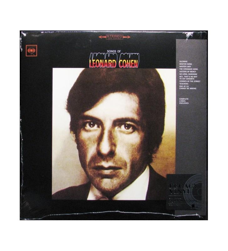 Leonard Cohen - Songs Of Leonard Cohen (LP, Album, RE) mesvinyles.fr