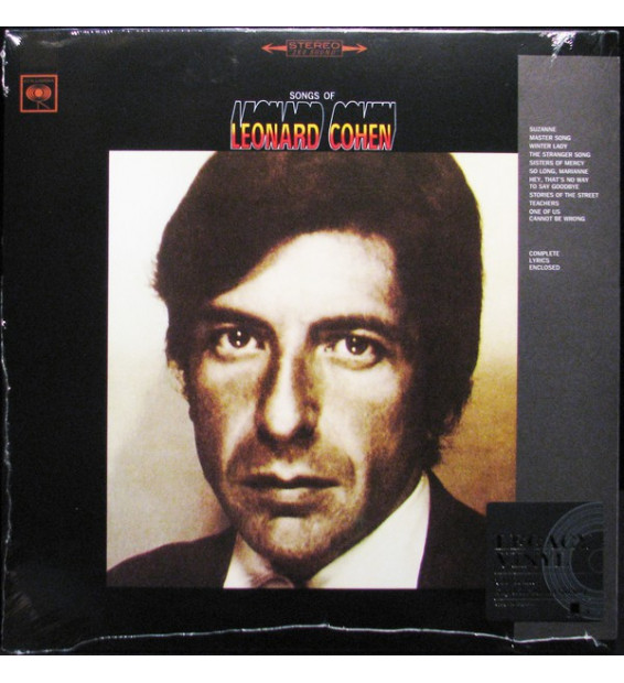 Leonard Cohen - Songs Of Leonard Cohen (LP, Album, RE)